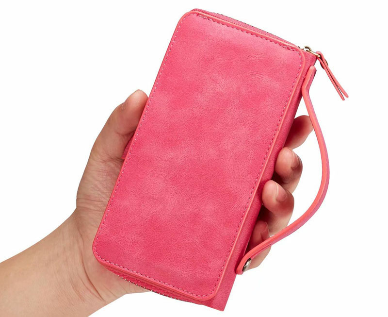 BRG Samsung Galaxy S9 Detachable Leather Wallet Case With Wrist Strap
