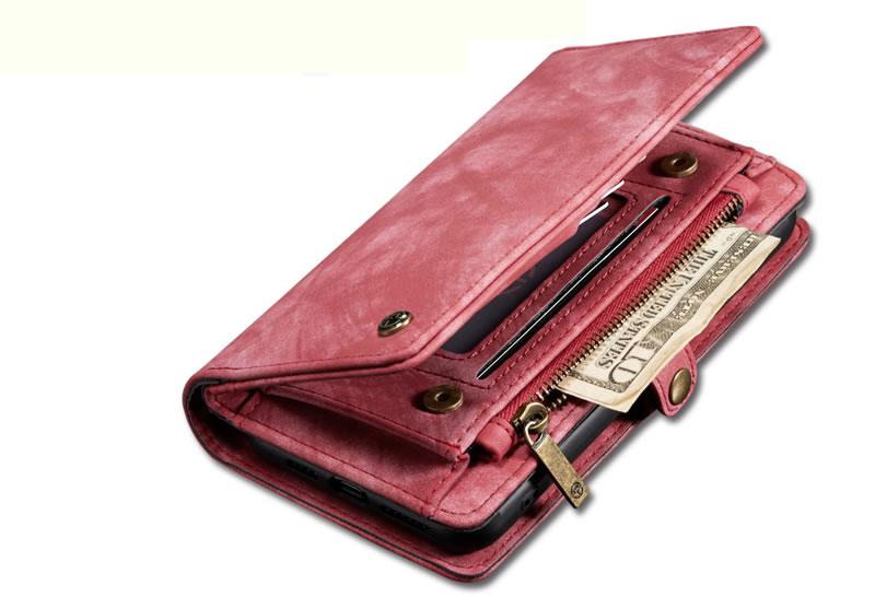 CaseMe iPhone 11 Pro Max Zipper Wallet Case