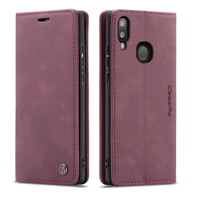 CaseMe Samsung Galaxy A20 Leather Wallet Case