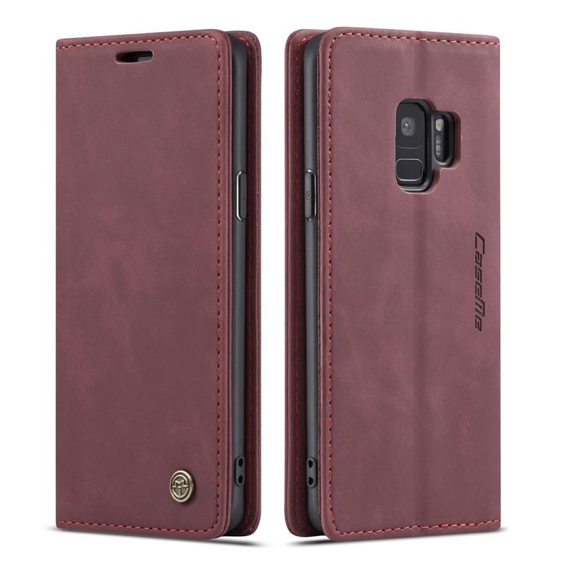 CaseMe Samsung Galaxy S9 Leather Wallet Case