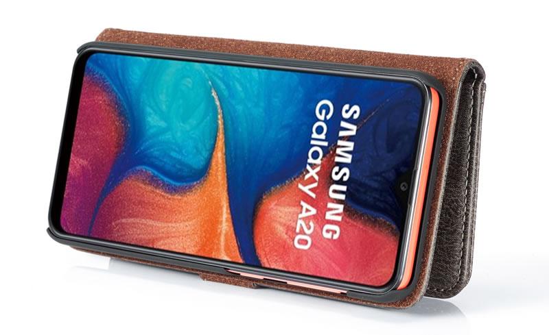 DG.MING Samsung Galaxy A20 Wallet Case