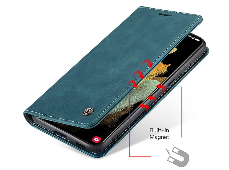 CaseMe Samsung Galaxy S21 Ultra Leather Wallet Case