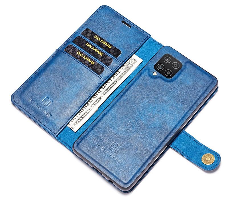 DG.MING Samsung Galaxy A12 5G Wallet Case