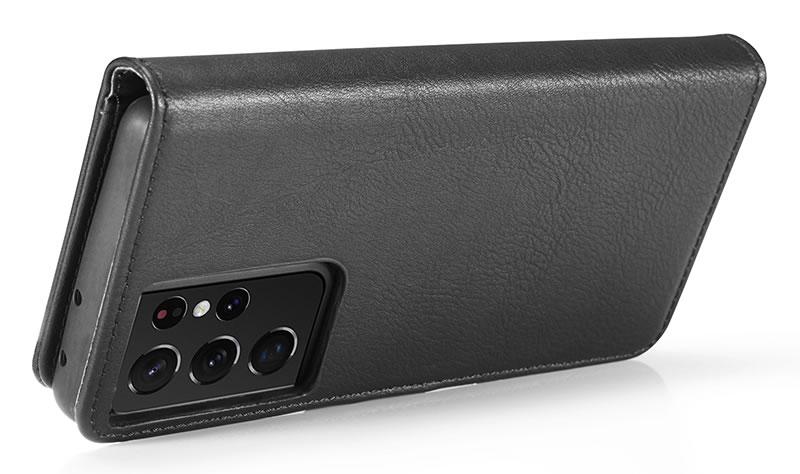 DG.MING Samsung Galaxy S21 Ultra Wallet Case